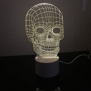 T Tocas 3d Amazing Optical Illusion Led Light Night Table