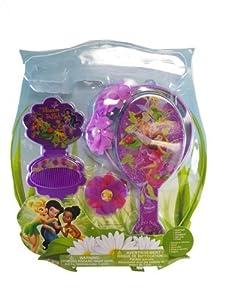 Disney Fairies Hair Care Set - Disney's Tinkerbell Hair Accessory Set