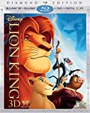 517RyYButRL. SL160  The Lion King (Four Disc Diamond Edition Blu ray 3D / Blu ray / DVD / Digital Copy)