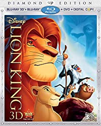 The Lion King 3D: Diamond Edition (4-Disc Combo Pack) [Blu-ray 3D + Blu-ray + DVD + Digital Copy]