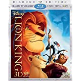 The Lion King (Four-Disc Diamond Edition Blu-ray 3D / Blu-ray / DVD / Digital Copy) ~ Matthew Broderick