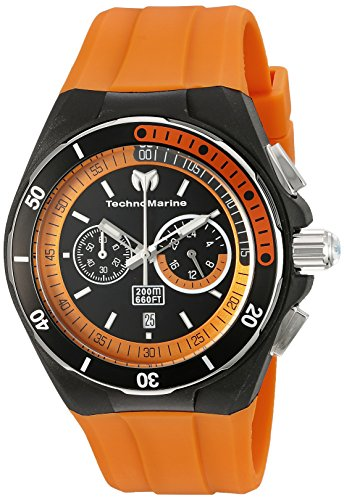 technomarine-mens-tm-115161-cruise-sport-analog-display-quartz-orange-watch
