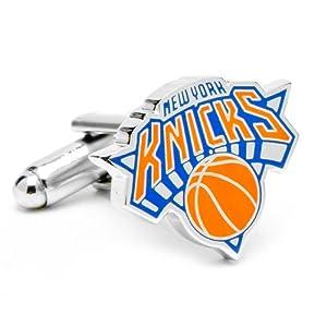 NBA New York Knicks Basketball Logo Cufflinks - Cuff Links by NBA