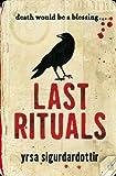 Last Rituals Yrsa Sigurdardottir