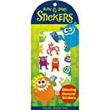 STK43 - Glowing Monster Stickers ~ Peaceable Kingdom Press
