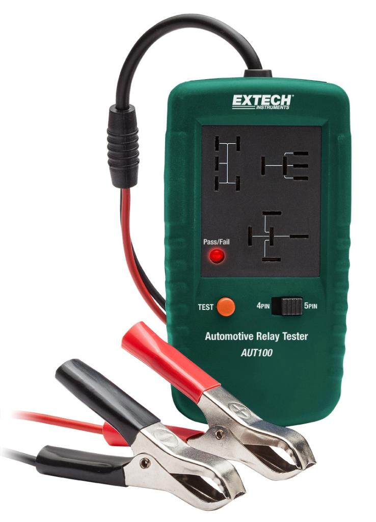 Extech AUT100 Automotive Relay Tester - Hand Tool Transfer