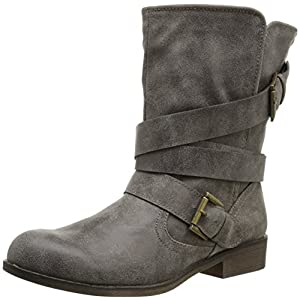 Madden Girl Women's Cullenn Motorcycle Boot