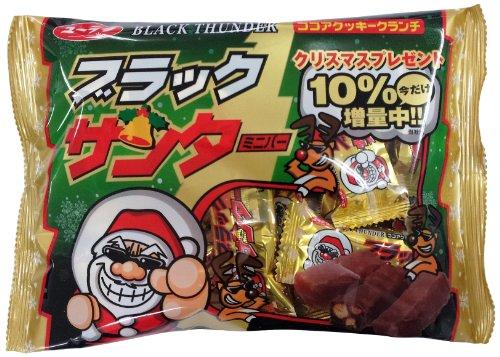 有楽製菓 クリスマスサンタミニバー 200g×2袋