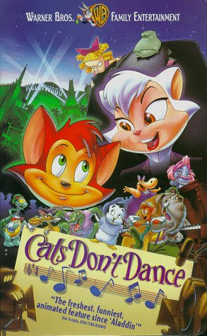 Cats Don't Dance [VHS]