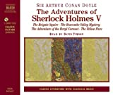 img - for The Adventures of Sherlock Holmes, Vol. 5: The Reigate Squire / The Boscombe Valley Mystery / The Adventure of the Beryl Coronet / The Yellow Face (Classic Literature with Classical Music) book / textbook / text book
