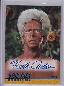 Star Trek TOS Keith Andes A42 Autograph Card