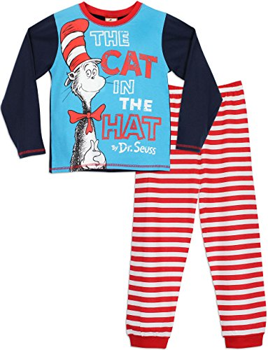 Dr Seuss Boys' The Cat in the Hat Pajamas