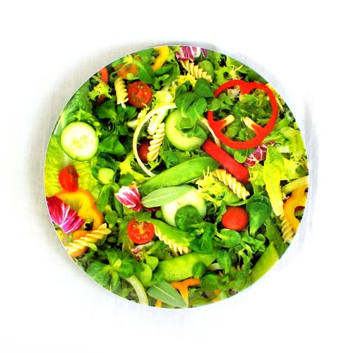 Green Salad - Melamine 20cm Side Plate