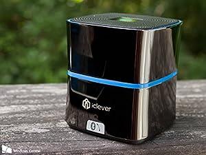 iClever 5W Enhanced BASS Portable Bluetooth Speaker, Zinc Alloy