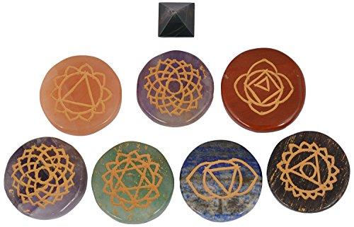 Jewels N Healing Crystal Chakra Symbolic Mandal Kit