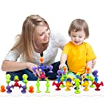Bebamour 36pcs Suction Toys Creative...