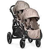Baby Jogger - City Select Black Frame Stroller with Second Seat - Sand