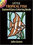 Little Tropical Fish Stained Glass Co...