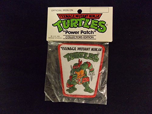 TMNT Teenage Mutant Ninja Turtles Power Patch Collectors Ed Raphael - 1