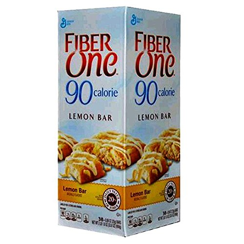 Fiber One 90 Calorie Lemon Bar, 38 Count (016000410664)
