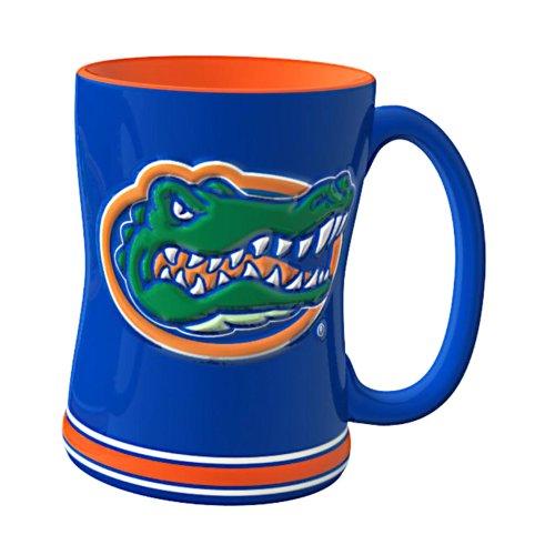 NCAA Florida Gators Sculpted Relief Mug, 14-Ounce