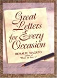 Great Letters for Every Occasion (0735200815) by Maggio, Rosalie