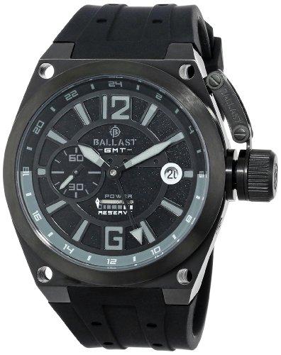 Ballast Men's BL-3119-07 Valiant Analog Automatic Self-Wind Black Watch