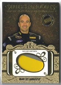 Buy 2013 Press Pass Showcase Series Standouts Memorabilia Gold #SSMMA Marcos Ambrose 22 25 by Doughboy'z SportsCards