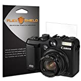 FlexShield [5-Pack] - Canon PowerShot G10 Screen Protector with Lifetime Replacement Warranty - Ultra Clear Japanese PET Film - Bubble-Free HD Clarity with Anti-Fingerprint & Scratch Resistance