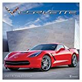 "Time Factory Corvette 12"" x 12"" January -December 2019 Wall Calendar (19-1058)"