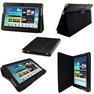 Etui Housse Luxe Cuir pour Samsung Galaxy Note 10.1 N8000 + Stylet Gratuit