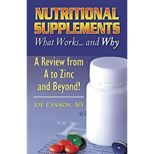 My Nutritional Supplements Book