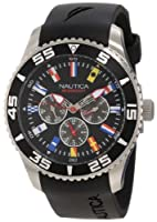 Nautica Men's N12626G NST 07 Flags Classic Analog Watch by Nautica