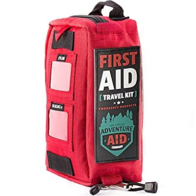 Adventure Aid First Aid Kit - This Emergency Kit includes 82 Medical Supplies