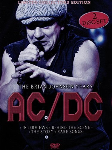 DVD : AC/DC - Brian Johnson Years (With CD, 2 Disc)
