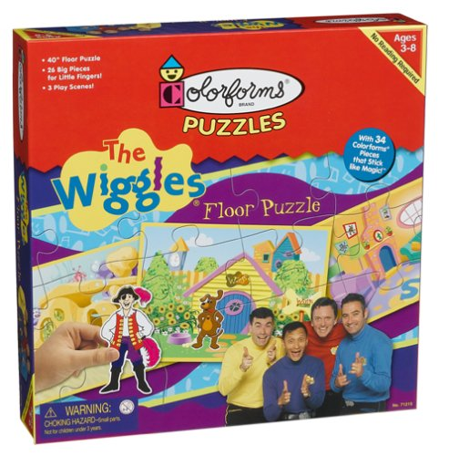 Buy Low Price Fun The Wiggles Colorforms Floor Puzzle (B000302AFU)
