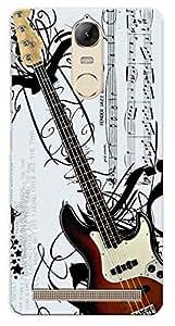 Kaira High Quality Printed Designer Back Case Cover For Lenovo Vibe K5/Vibe K5 Note New genration mobile(guitar)