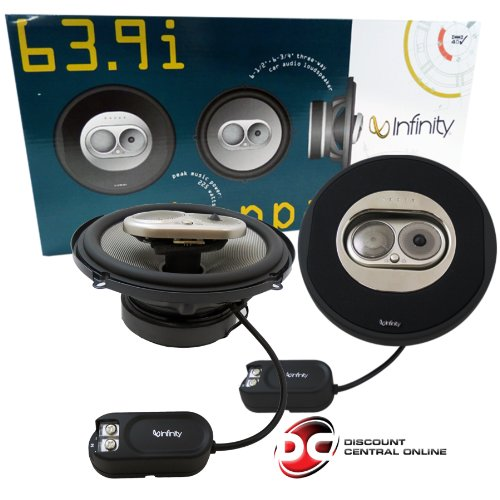 Infinity 639I 225W 6-1/2 X 6-3/4 -Inch Three-Way Speakers (Pair)