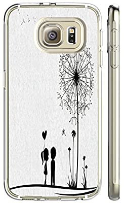 Galaxy s6 Case, [Ultra Slim Fit] PC Transparent Clear Cover Case for Samsung Galaxy s6 S VI