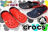 [crocs] クロックス 14608 クロックバンド ミッキー クロッグ 3.0 M8*W10(26cm) 643(red*black)
