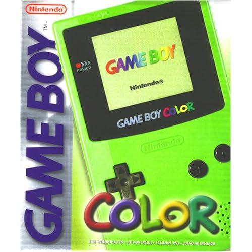 Game Boy   Gerät Color Neongrün Nintendo Game Boy Color