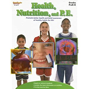 517ST3VAAAL. SL500 AA300  Health, Nutrition, and P.E.: Grades Prek K [Paperback]