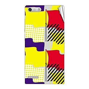 Garmor Designer Mobile Skin Sticker For Huawei Honor 6 Plus - Mobile Sticker