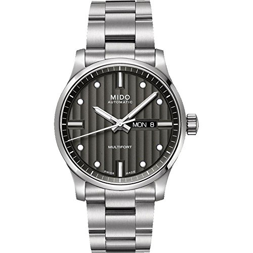 mido-mens-multifort-42mm-steel-bracelet-case-automatic-grey-dial-analog-watch-m0054301106180