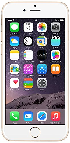 Apple iPhone 6 16GB ゴールド 【docomo 白ロム】MG492J