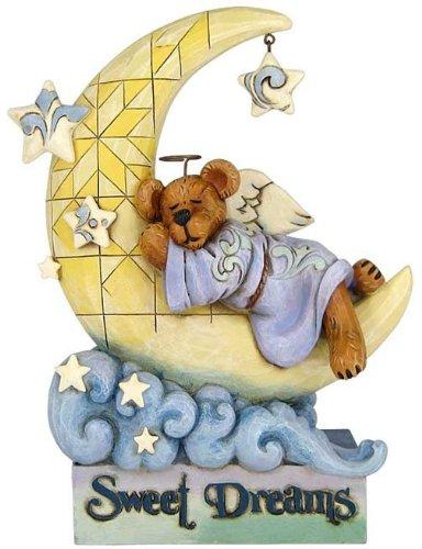 Jim Shores Boyds Bears Angel Slumberbeary - Sweet Dreams