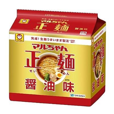 マルちゃん正麺醤油味 5P×6個