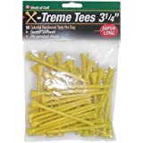 Jef World Of Golf Gifts And Gallery, Inc. 3 1/4-Inch Extreme Tee - 50 Pack (Yellow)