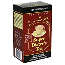 Laci Le Beau Super Dieter's Tea Super Dieter's Tea, Cinnamon Spice, 30 tea bags 1.63 oz (75 g)
