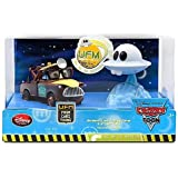Disney / Pixar CARS Movie Exclusive 148 Die Cast 2Pack Unidentified Flying Mater Set Dr Abschlepp Wagen Mater Figures Light Up
